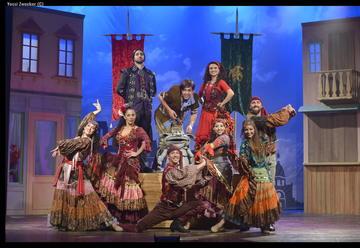 Национальный Молодежный Театр — Горбун из Нотр-Дама в Израиле
