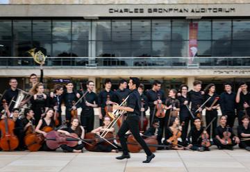 Израильский молодежный филармонический оркестр — Дирижер Лаав Шани в Израиле