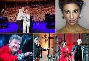 Пасхальный джаз — Музыкальное шоу — Опера и джаз  Адар Атари & Леонид Пташка & Гиль Шохат в Израиле