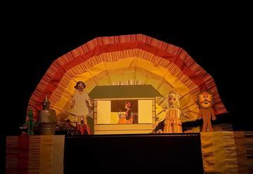 Детский спектакль — Волшебство бумаги — Волшебник страны Оз в Израиле