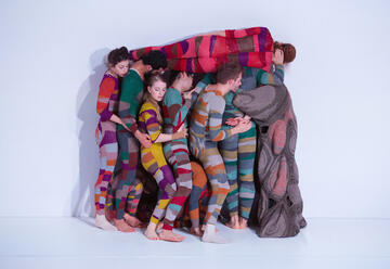 Танцевальный ансамбль Инбаль Пинто и Авшалома Полака — Wallflower в Израиле