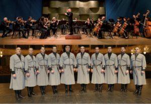 Мужской хор Рустави в гостях у Камерного оркестра Израиля в Израиле