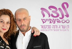 Ран Сариг и Дана Спектор в Израиле