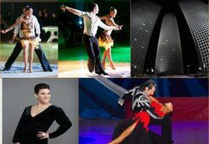 Фестиваль в амфитеатре Азриэли — Танцевальное бальное шоу — Полнолуние в Израиле