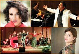 Концерт — Besame mucho в Израиле