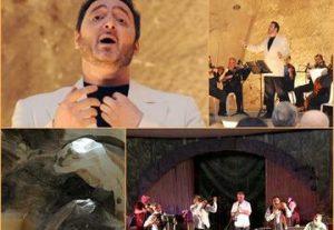 Фестиваль клейзмеров в Колокольной пещере в Израиле