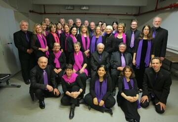 Выбор аудитории с камерным хором Тель-Авива в Израиле