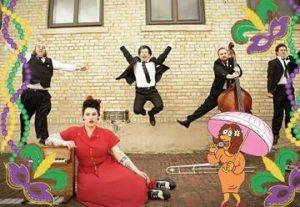 Горячий джаз для детей — Новый Орлеан Давины в Израиле