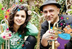 Горячий джаз для детей —  Андреа и испанская волшебная труба в Израиле