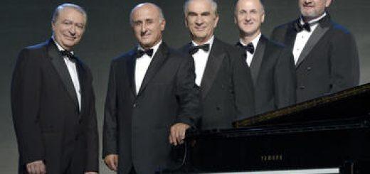 Фестиваль Суккот в Абу-Гош 2019 — Концерт № 12 — Великолепные голоса квинтета Колан в Израиле