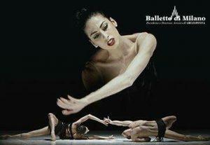 Впервые в Израиле —  Национальный балет Италии Balletto di Milano — Шансон…Болеро — Неоклассика в Израиле