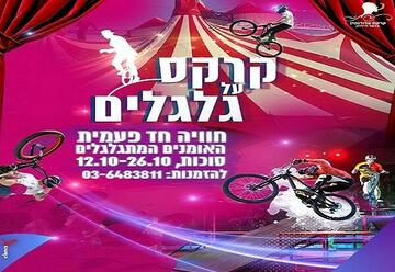 Цирк на колесах — Суккот 2019 в Израиле