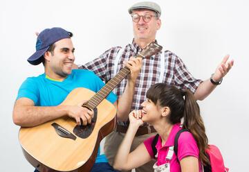 Детский музыкальный спектакль — Разноцветные песни в Израиле