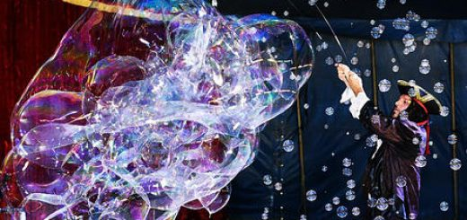 С 22 декабря — «Балаган в цирке Галактика»