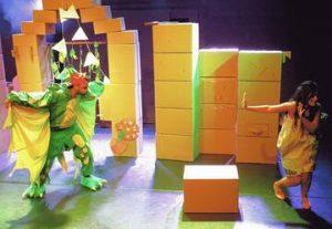 Театр Тмуна — Принцесса в бумажном пакете в Израиле