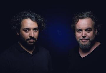 Даниэль Саломон и Адам Бен-Амитай в Израиле
