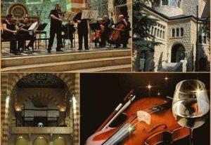 Бог музыки Бах и Бог вина Бахус — праздник музыки и вина в Израиле