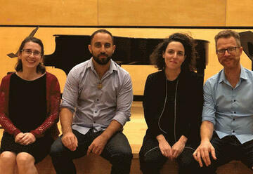 Камерный джаз квартет — Юваль Коэн в Израиле