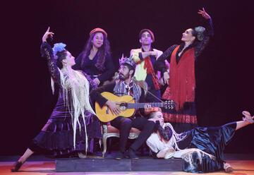 Ансамбль Фламенко — Sensiente в Израиле