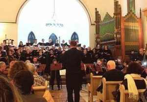 Духовная музыка для хора и органа — По дороге в рай в Израиле