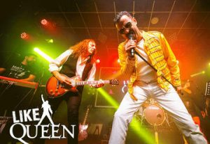 Группа Like Queen в Израиле